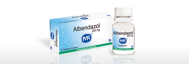 Albendazol MK® - tqfarma.com